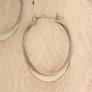 Single Silpada Classic Hoop Earring
